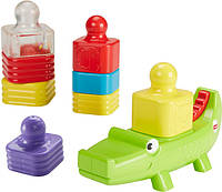 Fisher-Price Игрушка Веселый крокодил Little Stackers Activity Tower DRG34
