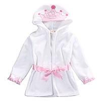 Дитячий банный халат Корона Принцесса,Зайка, фото 1