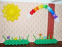Детский праздник.Оформление шарами.