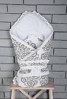 """Двухсторонний конверт-одеяло на выписку Деми """"Нежность"""""""