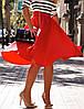 Женская юбка миди в расцветках. ф-16-0317, фото 3