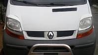 Накладки на фары Opel Vivaro, реснички Опель Виваро