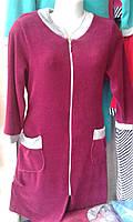Велюровый халат для женщин (46-60)