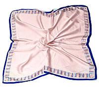 Шейный платок Камилла из вискозы и шелка, 70х70 см, персик