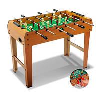 Детский деревянный футбол ZC 1018 B ***