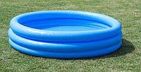 Бассейн детский  Intex 58446 «Голубая лагуна» 168*38см***