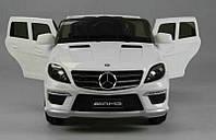 Детский электромобиль Mersedes Benz ML-63 белый***