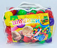 "Набор мячей для сухого бассейна  ""M-TOYS""  (100шт)***"