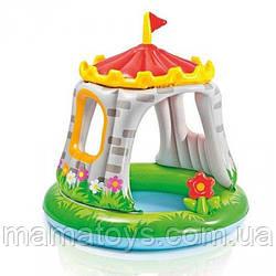 Детский Надувной Бассейн Королевский Замок 57122 Intex Размеры 122 - 122 см