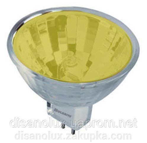 Лампа галогенная MR16 35W 12V желтая