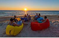 Ламзак надувной матрас Lamzac Hangout, диван, лежак, мешок