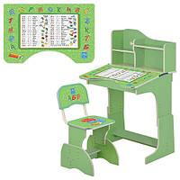 Детская парта растишка Алфавит HB 2071M03-05 ***