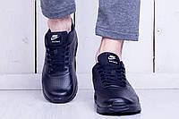 Кроссовки мужские стильные Nike Air Max 90 black (найк аир макс)  (реплика)