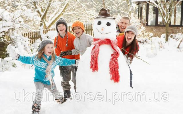 Все любят зиму, а особенно дети!!!