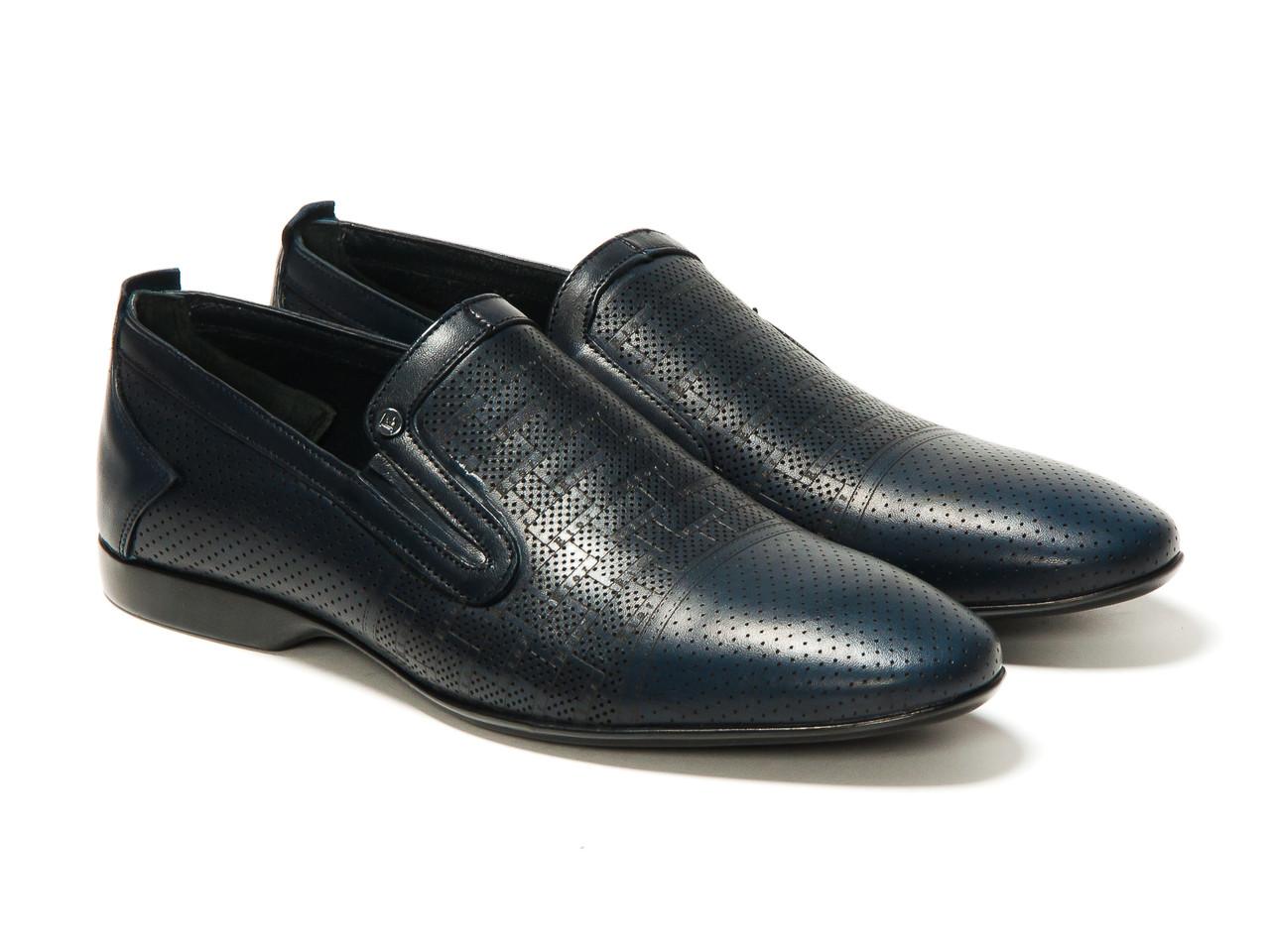 Туфли Etor 11463-7115-3 синие