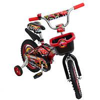 Детский двухколесный велосипед AZIMUT MUSTANG Pilot Тачки(18 дюймов)***