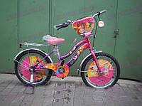 """Детский двухколесный велосипед AZIMUT """" Mustang - """"Winx""""(18 дюймов)***"""
