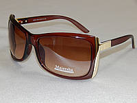 Солнцезащитные очки женские коричневые 760121