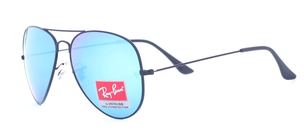 Солнцезащитные очки Ray Ban 3026 Aviator (blue mirror)