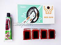 """Латки с клеем """"RED SUN"""" для вело камеры и матрасов RS4803"""
