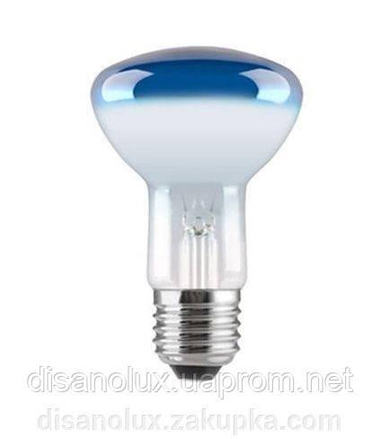 Лампа рефлекторная R63 40вт синяя