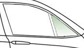 Автомобільне скло кватирки переднє нерухоме праве, зелене FIAT DUCATO 1994 - 3735RGNV3FV