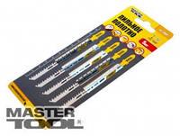 MasterTool Пильное полотно для чистых пропилов 5шт (T301CD) Пильное полотно для чистых пропилов 5шт (T301CD)  14-2804