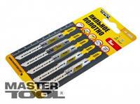 MasterTool Пильное полотно для чистых пропилов 5шт (T101B) Пильное полотно для чистых пропилов 5шт (T101B)  14-2806
