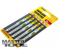 MasterTool Пильное полотно для чистых пропилов 5шт (T101BR) Пильное полотно для чистых пропилов 5шт (T101BR)  14-2807
