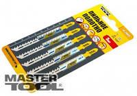 MasterTool Пильное полотно для чистых пропилов 5шт (T101D) Пильное полотно для чистых пропилов 5шт (T101D)  14-2809