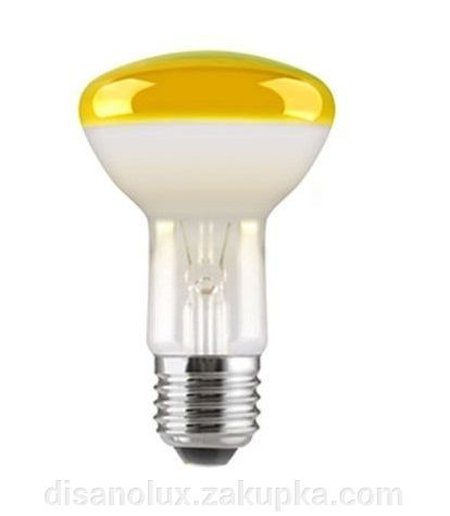 Лампа рефлекторная R63 40вт желтая