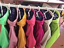 Модная детская ветровка Кошечка для девочек 3 -5 лет. Цвет лайм, фото 8
