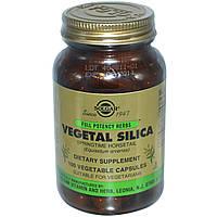 Растительный кремний Solgar, 100 капсул. Сделано в США.