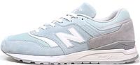 Женские кроссовки New Balance 997.5 (Нью Баланс) бирюзовые/серые