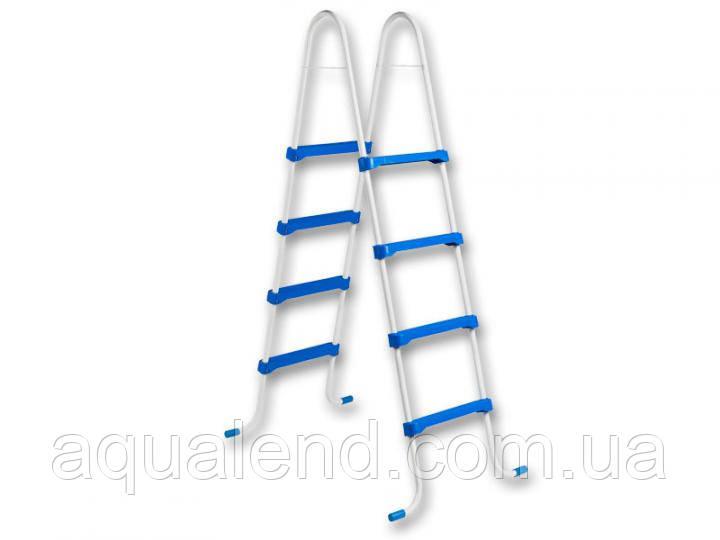 Сходи для каркасного басейну 4 сходинки висотою 1,2 м Azuro з пластику Family Safety Ladder