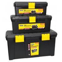 MasterTool Ящик для инструментов пластиковые замки Ящик для инструментов пластиковые замки (1) 79-2219