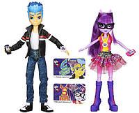 Набор из 2 кукол Твайлайт Спаркл и Флеш Сентри шарнирные, оригинал из США