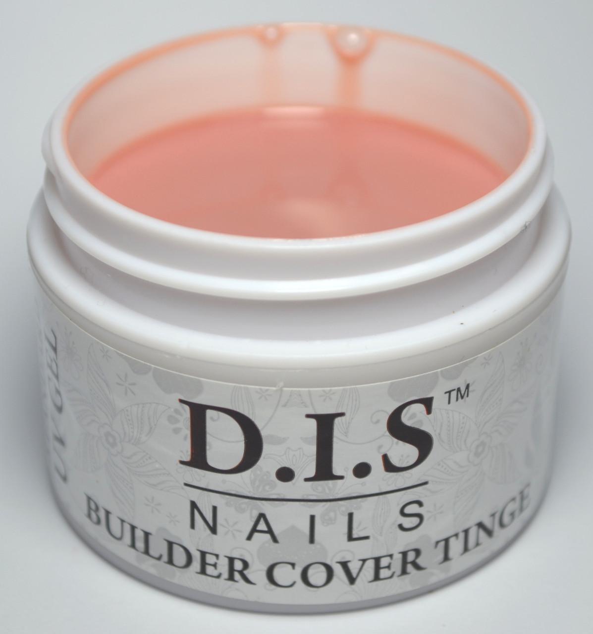 Гель камуфлирующий DIS Builder Cover Tinge (средней вязкости) 30 г.
