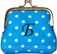 Подарочный кошелек с инициалами    Б, фото 1