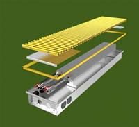 Конвектор внутрипольный с естественной конвекцией КПЕ 240.3000.125/85