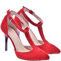 Туфлі жіночі  FS1003  червоні замша, фото 1