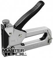 MasterTool Степлер металлический хромированный 4-14мм 41-0906