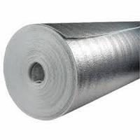 Отражающая изоляция Теплоизол 2 мм (полотно ППЕ, дублированное металлизированной пленкой)