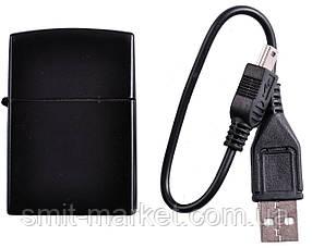 """Зажигалка USB """"Черная"""""""