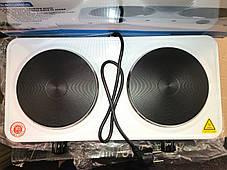 Электроплита настольная Domotec MS-5822 (2 диска) , фото 2
