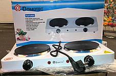 Электроплита настольная Domotec MS-5822 (2 диска) , фото 3