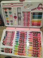 Детский набор для рисования на 86 предметов art set (Феи или Гонки), фото 1
