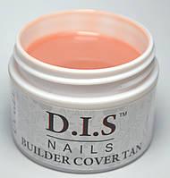 Гель камуфлирующий DIS Builder Cover Tan (средней вязкости,телесно-натуральный) 30 г.