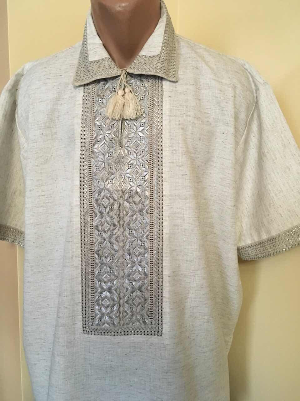 Літня вишита сорочка чоловіча ручної роботи  продажа 77bc4c25c4a8c