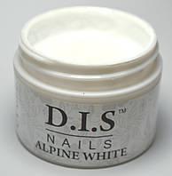 Гель DIS Alpine White(прорисовочный ярко-белый) 30 г.